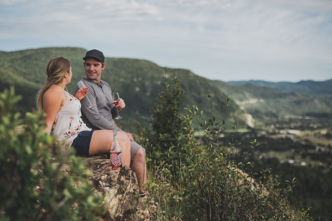 Castlegar Kootenays Engagement Photography on Dove Hill by Kootenay Wedding Photographer Wanderlust Photography