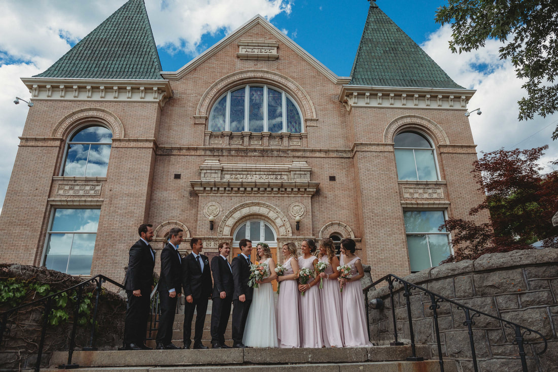 Downtown Rossland Wedding Photography by Kootenay Wedding Photographer Wanderlust Photography
