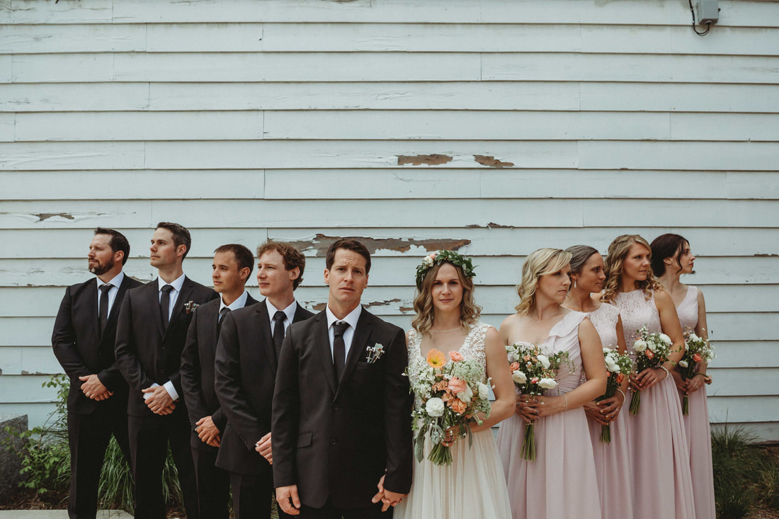Downtown Rossland Wedding Photography by Wanderlust Photography
