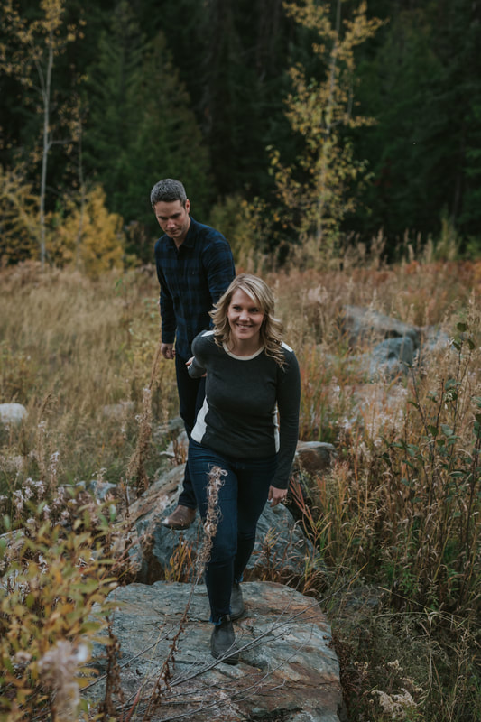 Rossland Engagement Kootenays Wedding Photographer