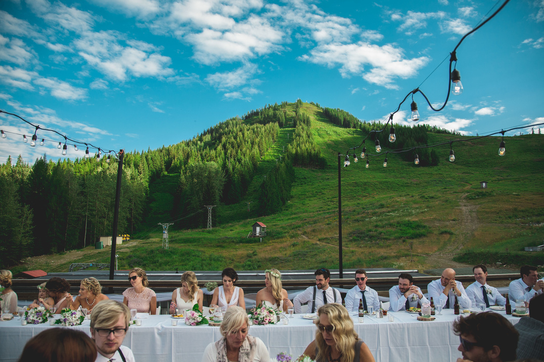 RED Mountain Rossland BC Wedding Reception by Kootenays Wedding Photographer Wanderlust Photography