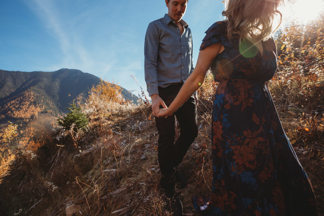 Idaho Peak Engagement Session